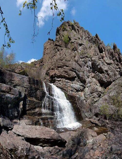 Сибайский водопад Гадельша (Ибрагимовский, Туялас)