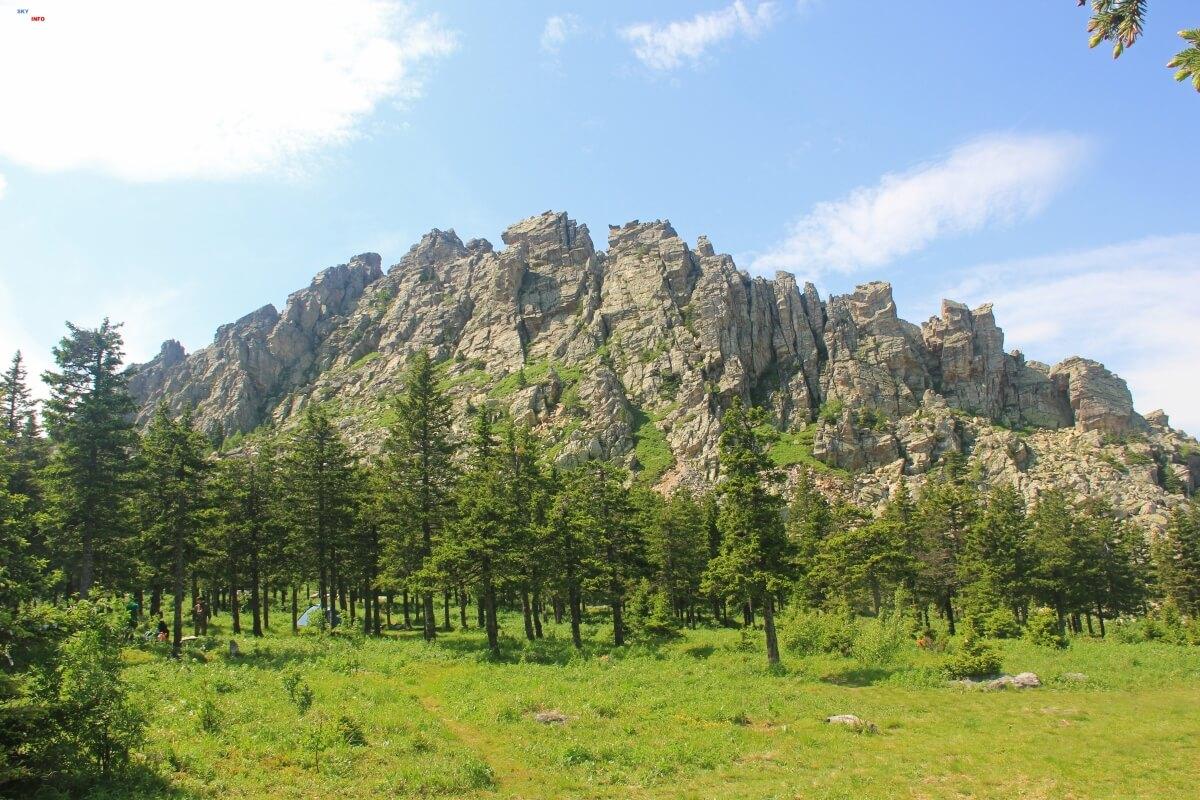 Горы Таганая