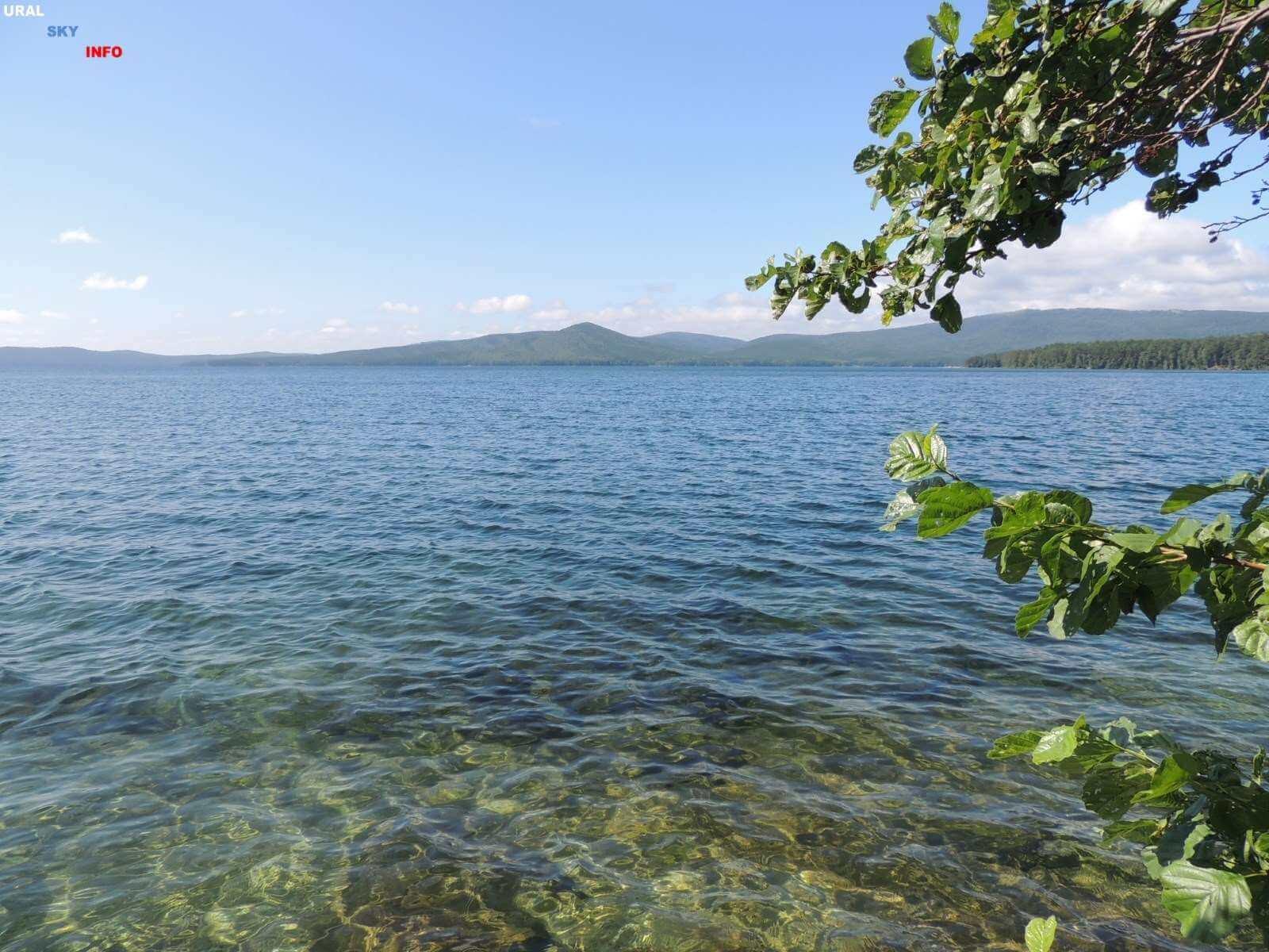 Озеро Тургояк - красоты Южного Урала